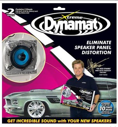 "Dynamat Xtreme Speaker kit ""repro sada"" antivibrační materiál"