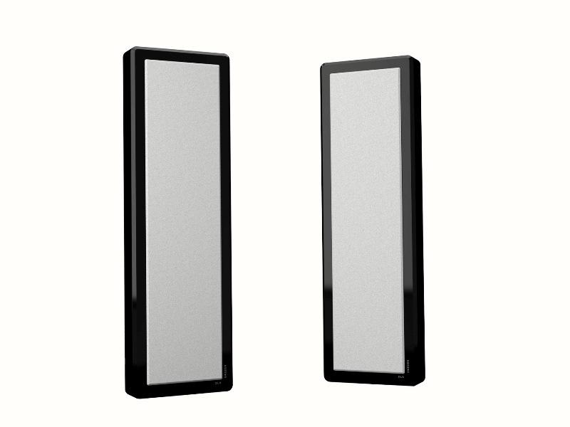 Reproduktory DLS Flatbox M-Two black piano