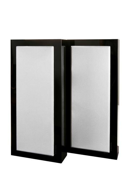 Reproduktory DLS Flatbox Large black piano