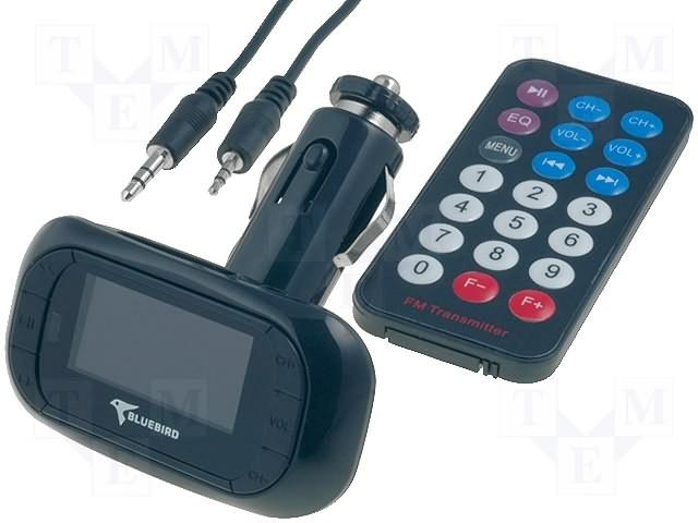 FM vysílač TR-FM-002B černý