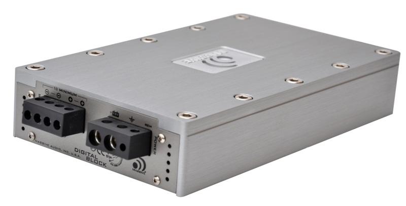 Zesilovač Massive Audio D 2400