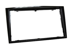 Rámeček autorádia 2-DIN Opel Astra/Zafira černá lesklá