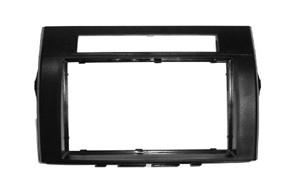 Rámeček autorádia 2-DIN Toyota Corolla Verso (->09) černá