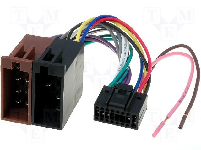ISO konektory JVC 16 PIN