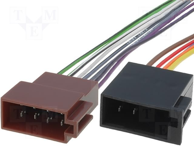 ISO konektory univerzální zásuvka