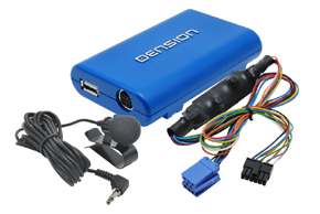 Dension GATEWAY Lite3 BT HF sada + iPhone / iPod / USB vstup Renault