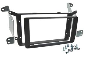 Rámeček autorádia 2-DIN Mitsubishi / Peugeot / Citroen černá lesklá