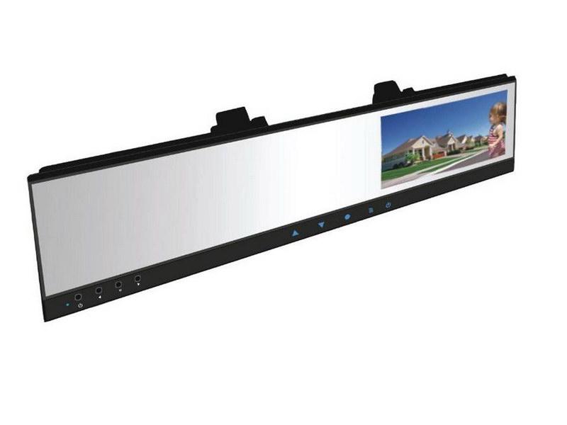"LCD monitor 4,3"" na zrcátko s DVR kamerou ds-430DVR"