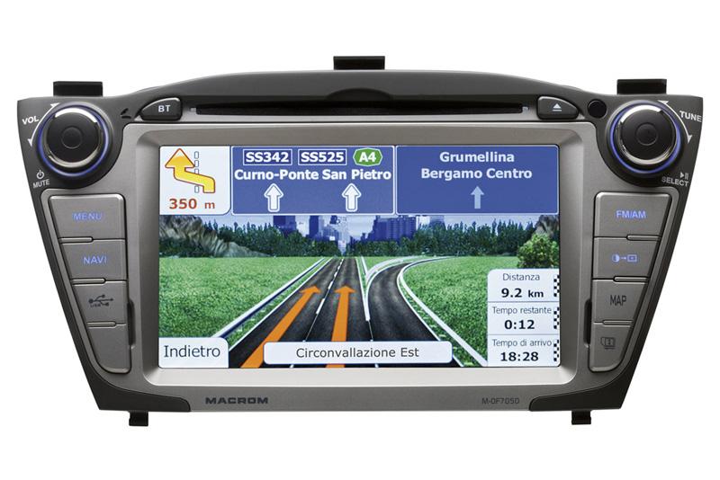 Autorádio MACROM M-OF7050 OEM navigace Hyundai ix35