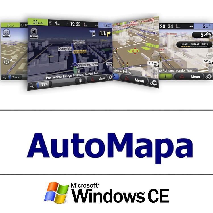 Road Rover AUTOMAPA EUROPA WinCE 2-letá aktualizace