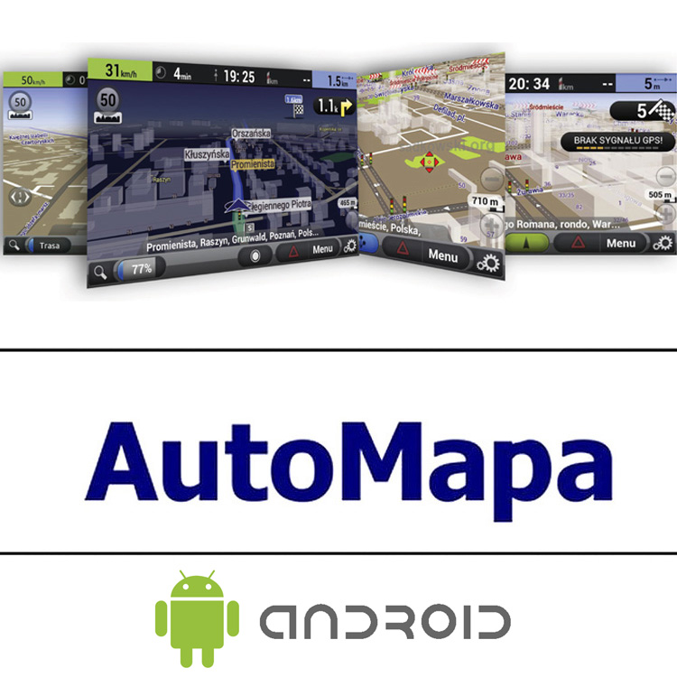Road Rover AUTOMAPA EUROPA Android 1-letá licence