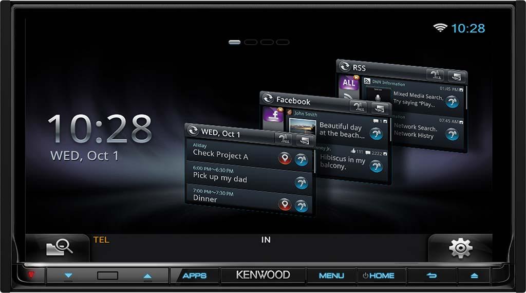 Autorádio Kenwood DNR-8025BT
