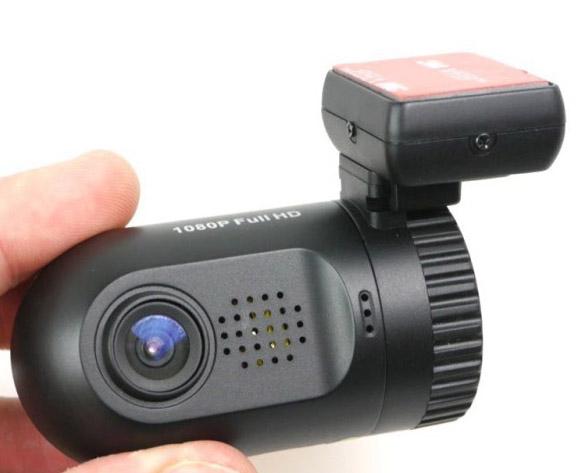"""Miniaturní FULL HD kamera, GPS + 1,5"""" LCD monitor pro záznam obrazu DVRB22"""
