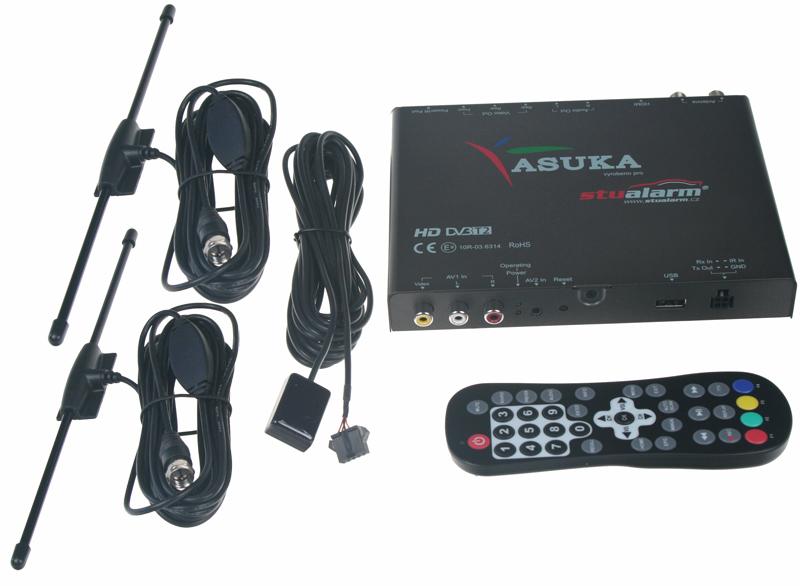 DVB-T2 digitální tuner Asuka s USB