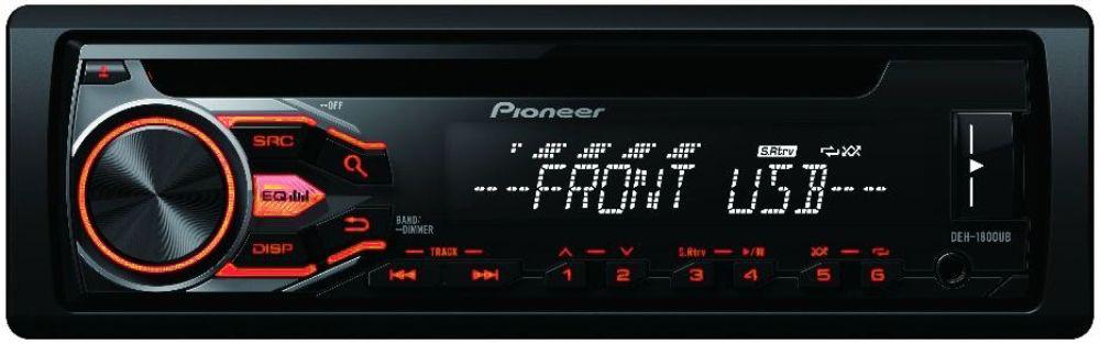 Autorádio Pioneer DEH-1800UBA