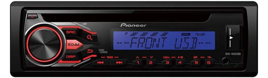 Autorádio Pioneer DEH-1800UBB