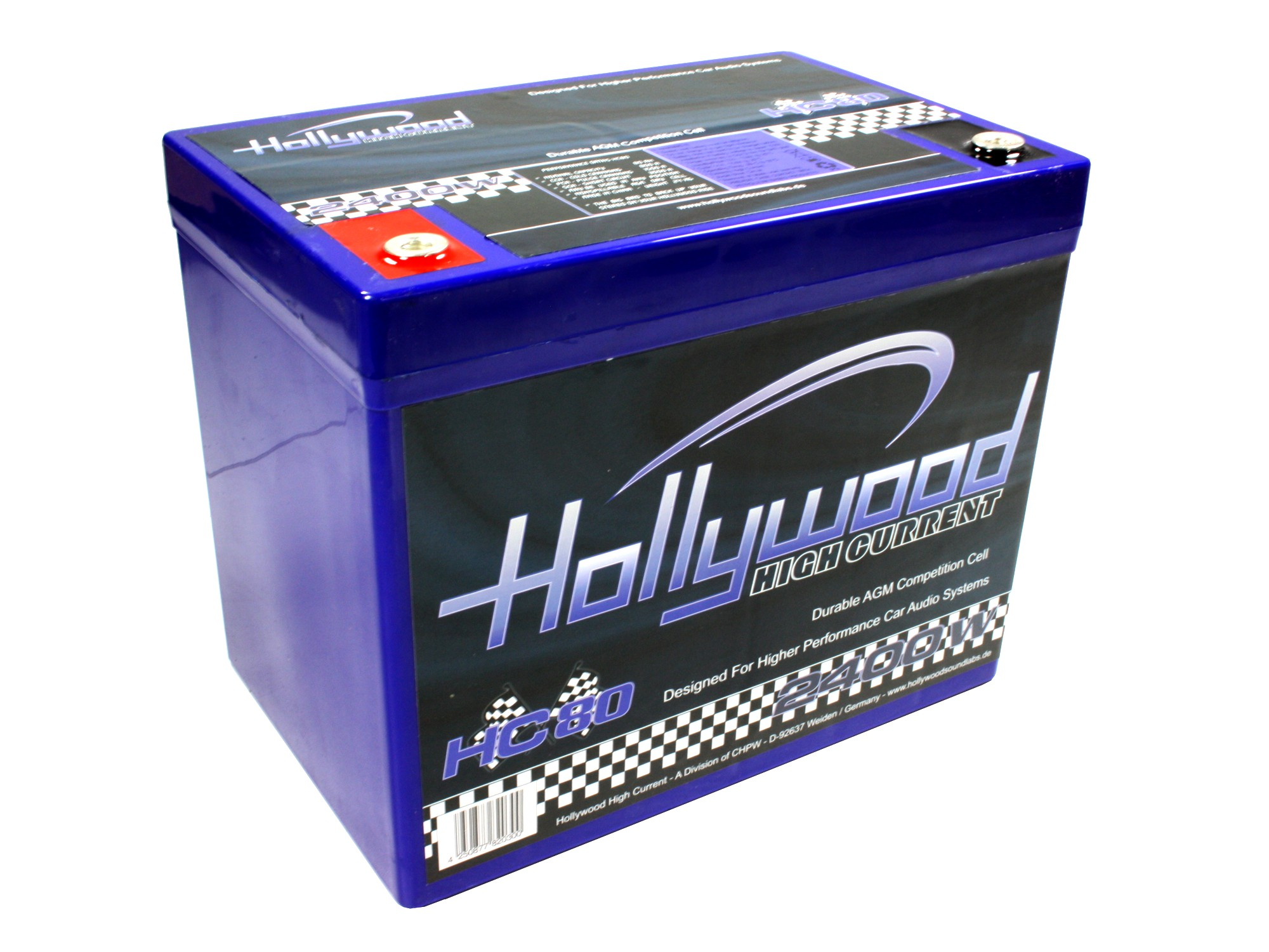 Autobaterie Hollywood HC 80