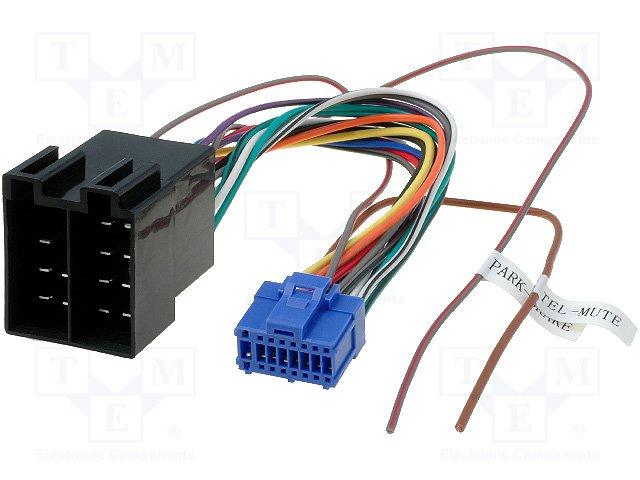 ISO konektory Pioneer 16 PIN D