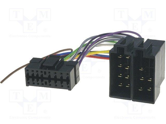 ISO konektory Clarion 16 PIN