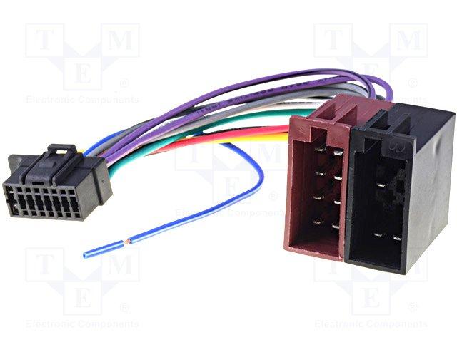 ISO konektory Sony 16 PIN C
