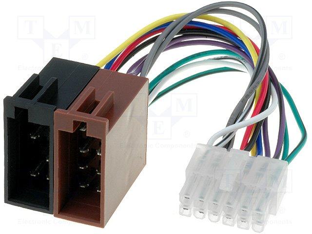 ISO konektory Pioneer 12 PIN