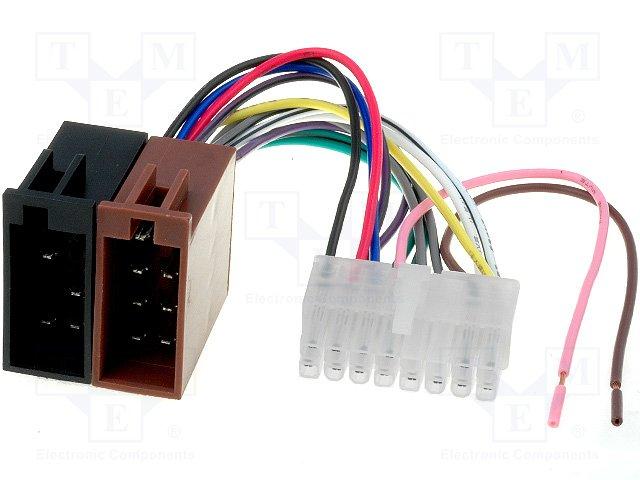 ISO konektory Alpine 16 PIN B