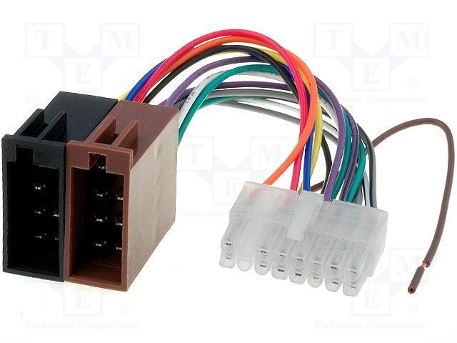 ISO konektory Clarion 16 PIN B