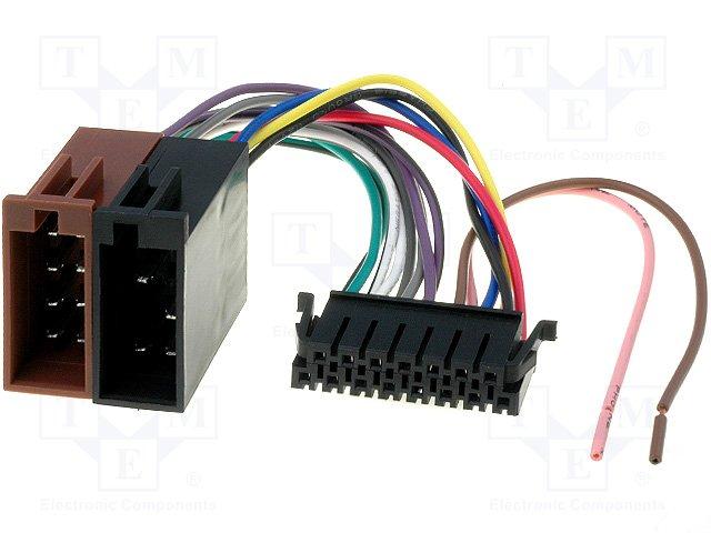 ISO konektory Sony 15 PIN