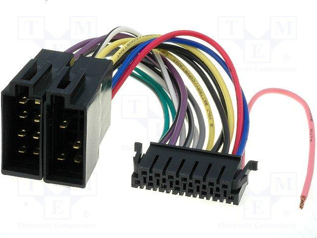 ISO konektory Sony 15 PIN B