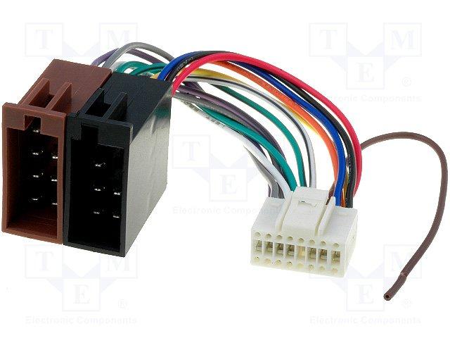 ISO konektory Pioneer 16 PIN F