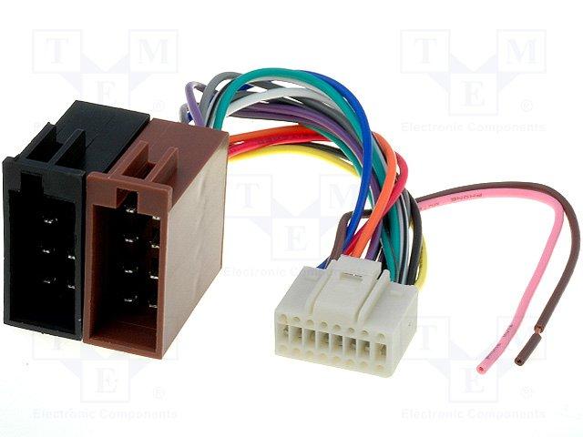 ISO konektory Alpine 16 PIN C