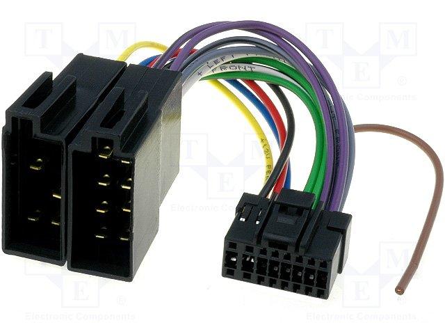 ISO konektory Panasonic 16 PIN E