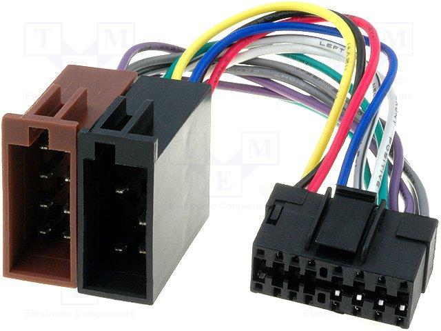 ISO konektory JVC 16 PIN B