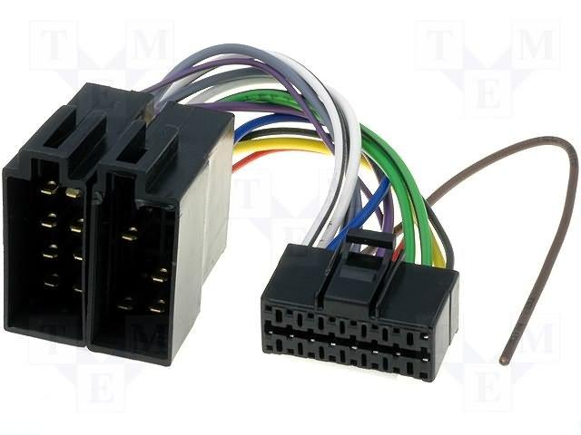 ISO konektory Panasonic 16 PIN D
