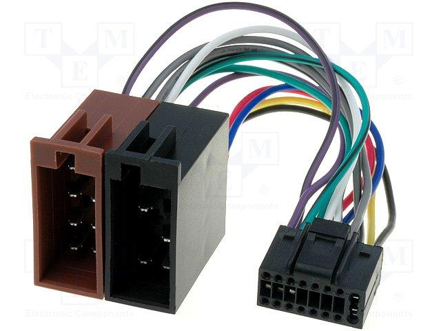 ISO konektory Pioneer 16 PIN C
