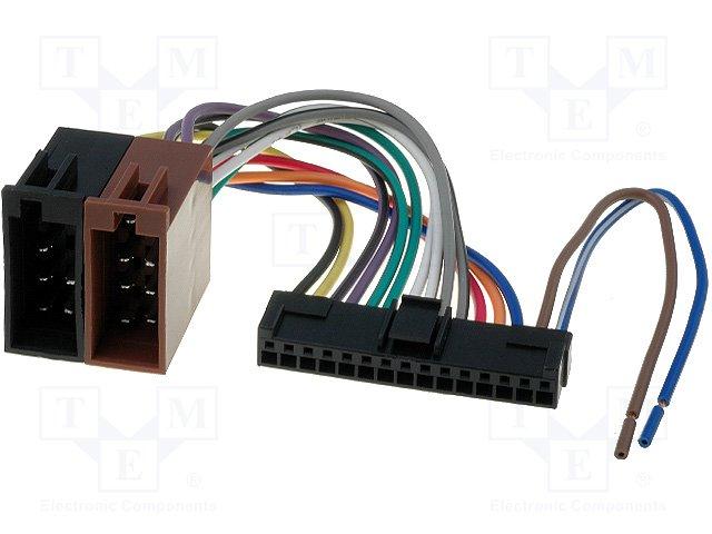 ISO konektory Pioneer 15 PIN
