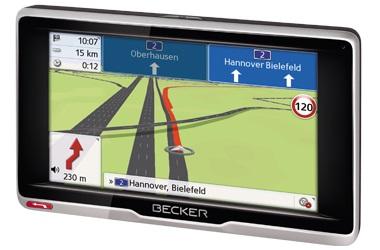Navigace BECKER Transit.5 LMU