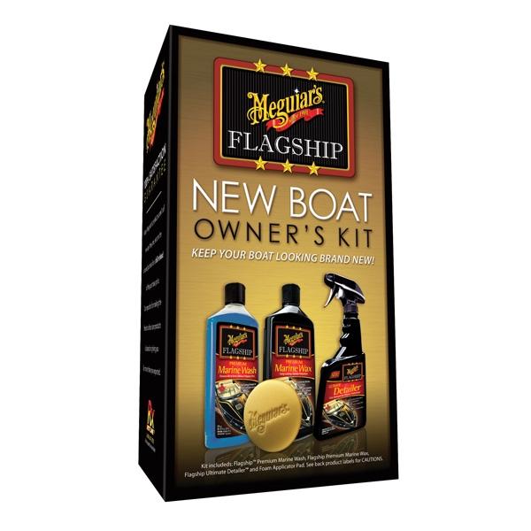 Meguiars Flagship New Boat Owners Kit - výhodná sada lodní kosmetiky