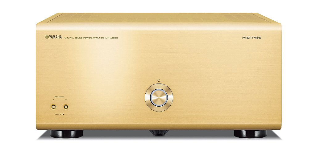 AV Receiver Yamaha MX-A5000 Gold