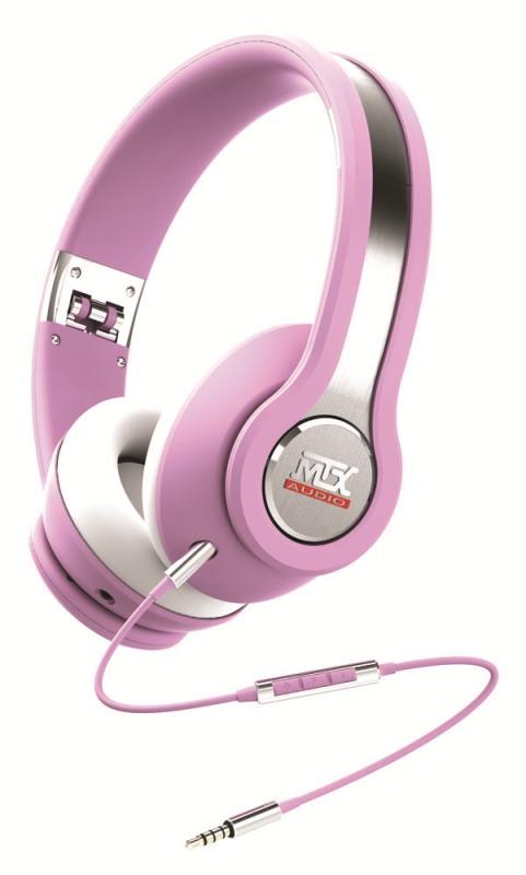 Sluchátka MTX Audio iX1PINK