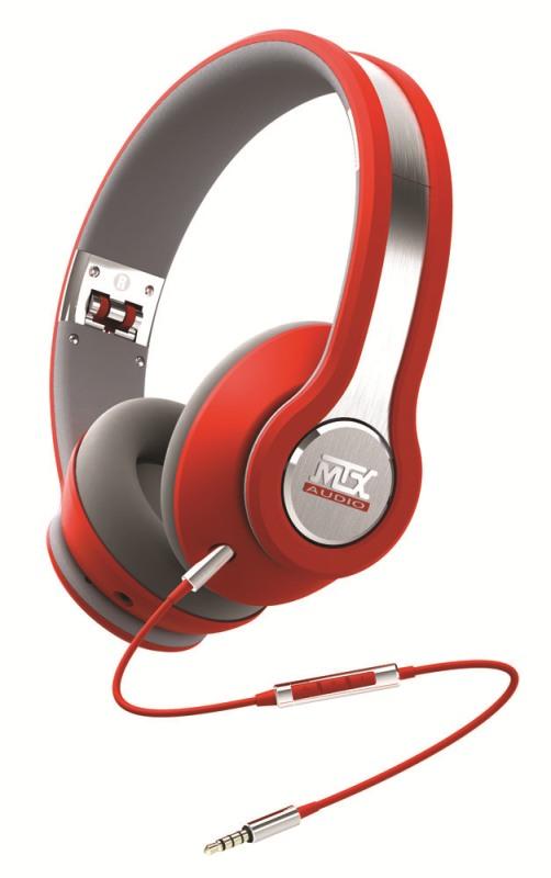 Sluchátka MTX Audio iX1RED