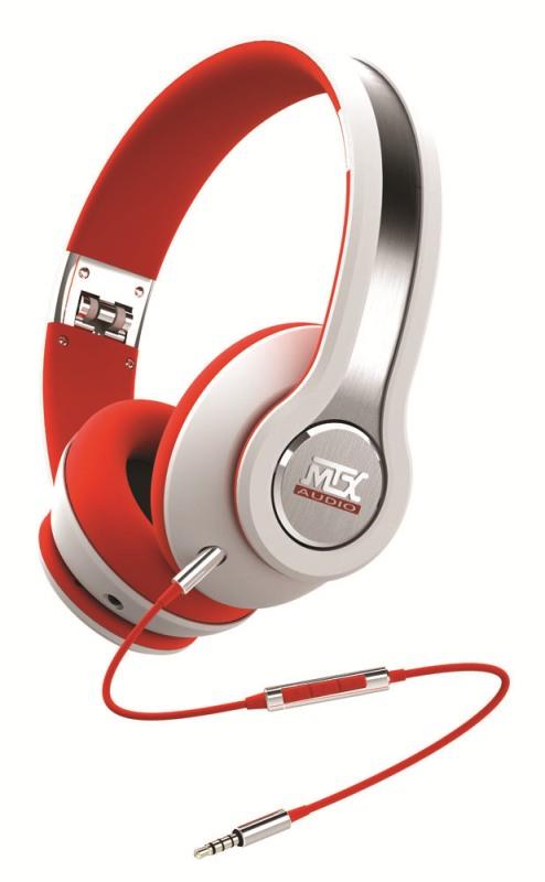 Sluchátka MTX Audio iX1WHITE
