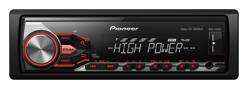 Autorádio Pioneer MVH-280DAB