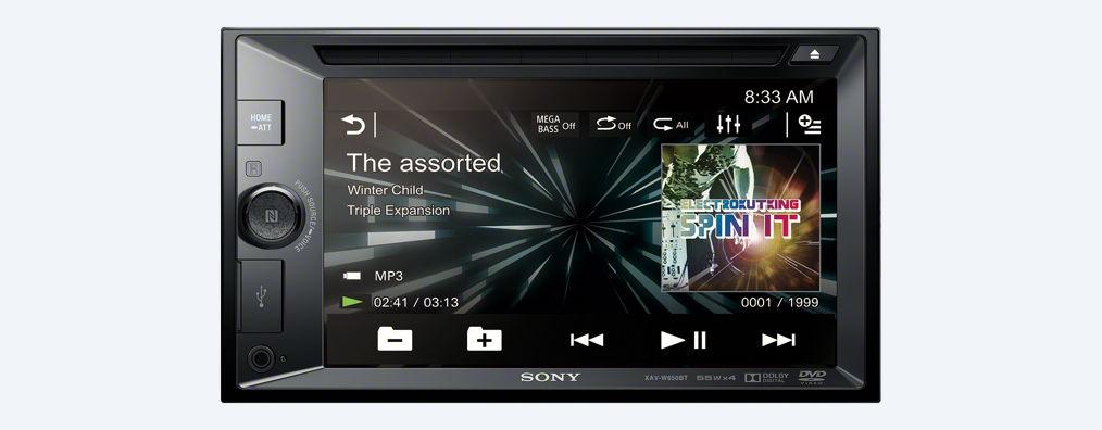 Autorádio Sony XAV-W650BT