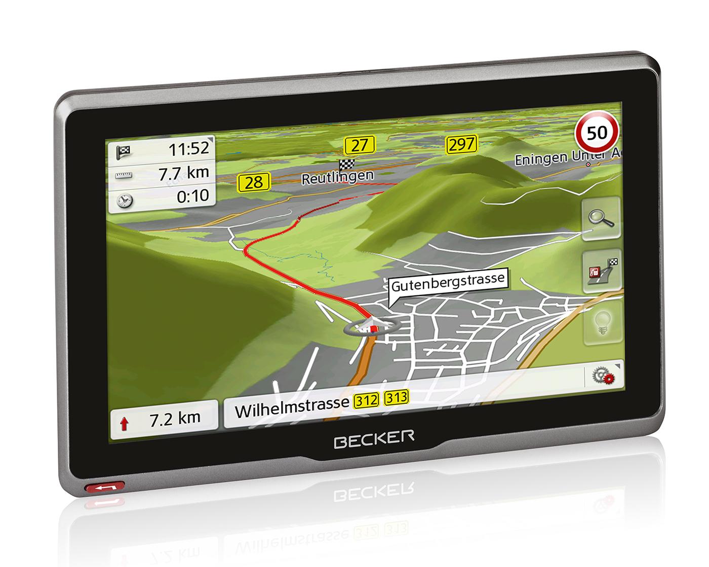 Navigace Becker Active.7s EU