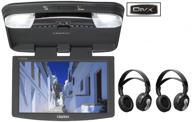 Clarion VT1510E stropní monitor