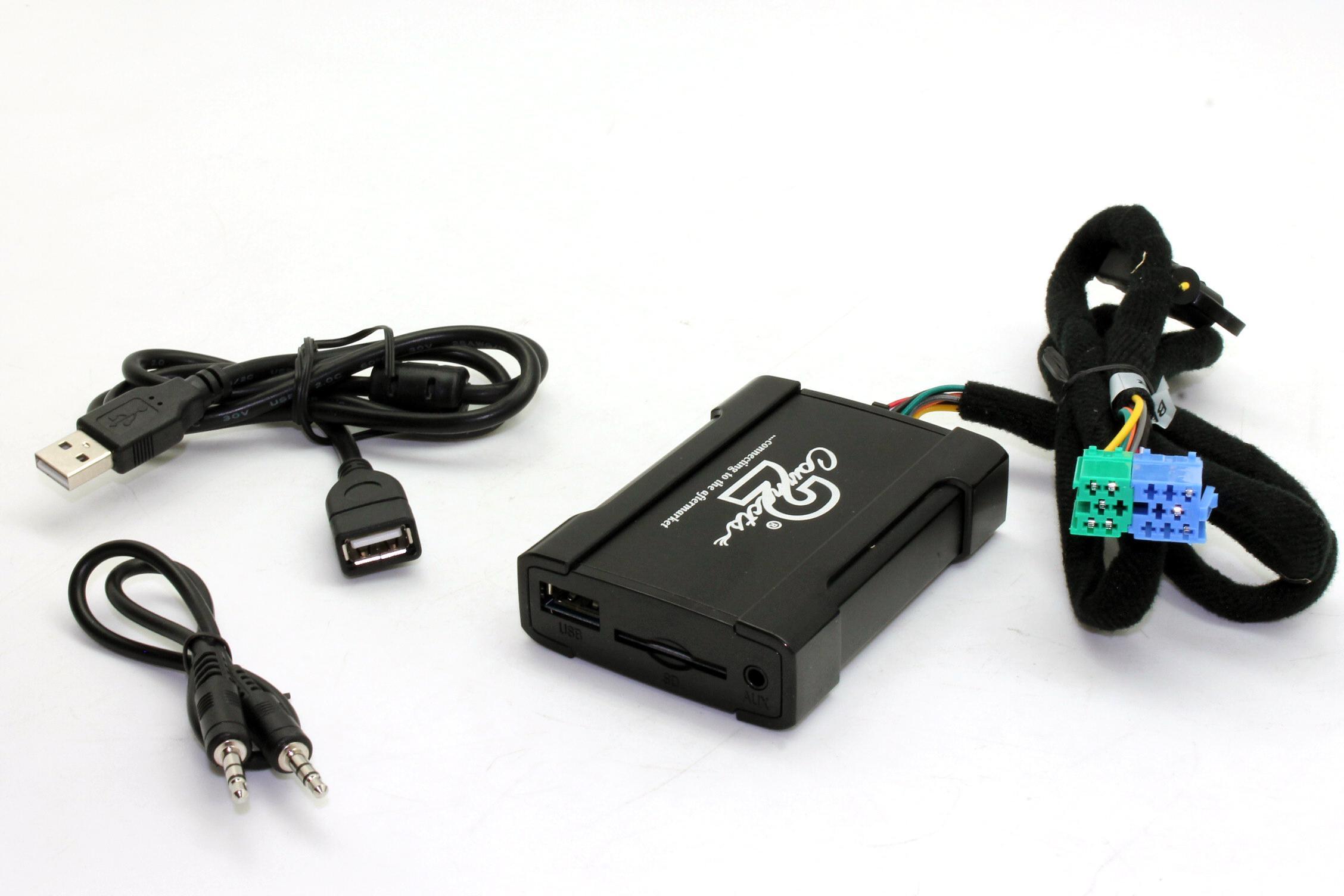 Connects2 USB/SD/AUX adaptér Becker