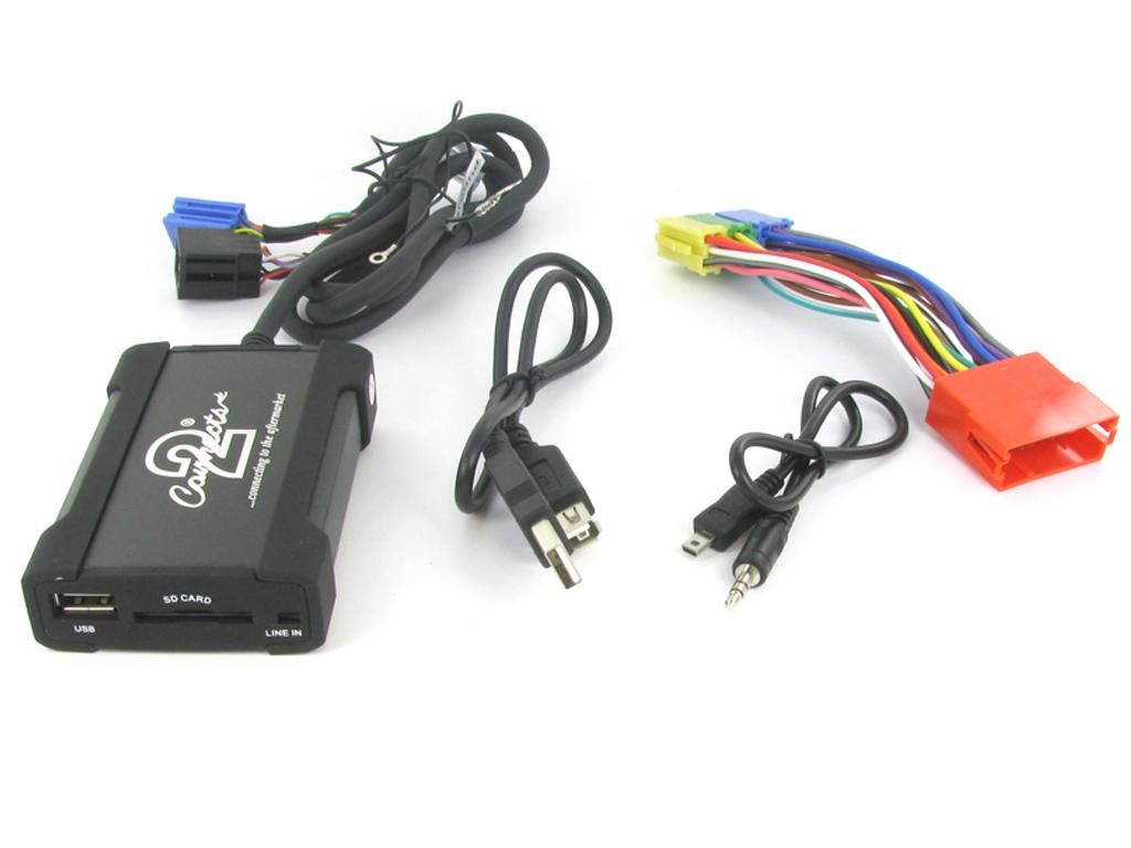Connects2 USB/SD/AUX adaptér Audi