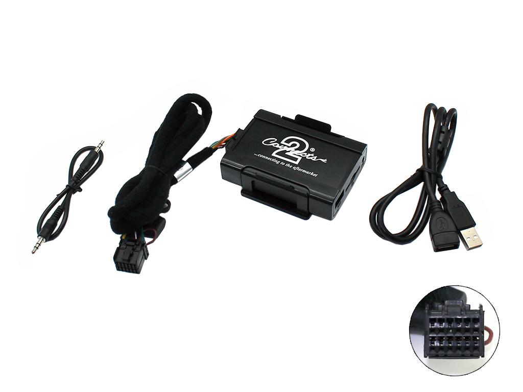 Connects2 USB/SD/AUX adaptér Ford