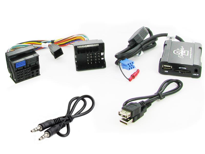 Connects2 USB/SD/AUX adaptér Renault (09->)